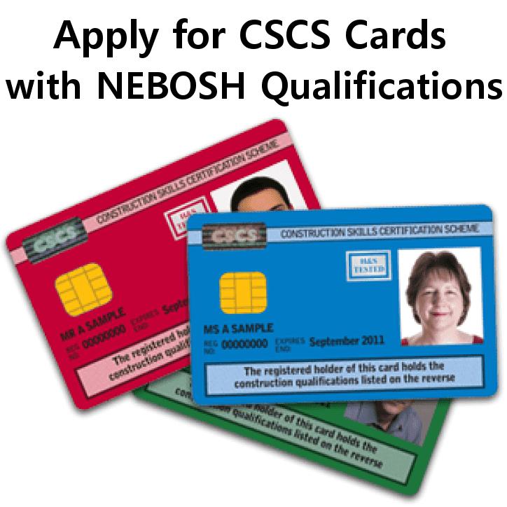 Cscs Scheme Includes Nebosh Apply For Cscs