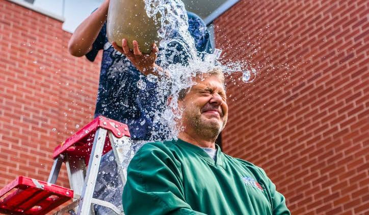 Patrick Frayne's ALS ice bucket challenge