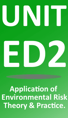 Unit ED2 Management of Environmental Risk