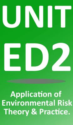 nebosh national diploma in environmental management sheilds  unit ed2 management of environmental risk