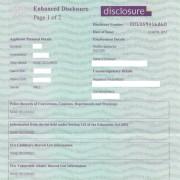 changes to CRB criminal records bureau min