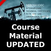 NEBOSH international oil gas course updates