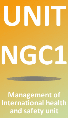 Unit NGC1 Management of Health and Safety