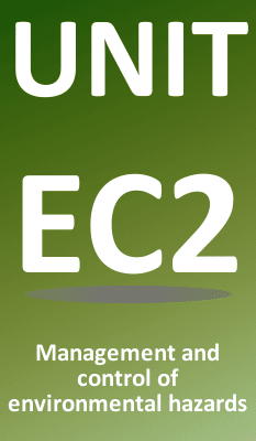 Unit EC2 Control of Environmental Hazards