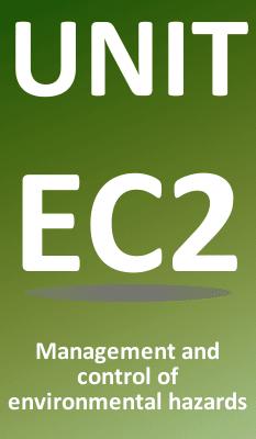 Unit EC2 Control of Environmental Hazards