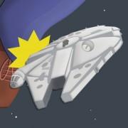 Harrison Ford breaks leg on Millennium Falcon
