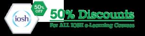 IOSH Discount Offer 50%