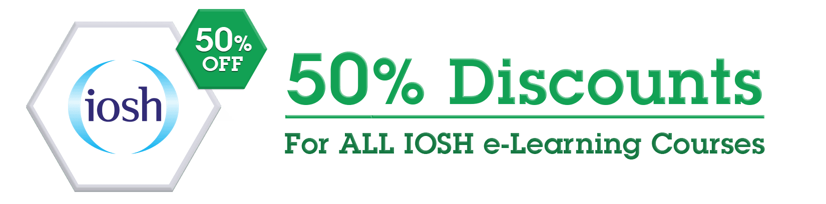 IOSH Discount Offer 50%