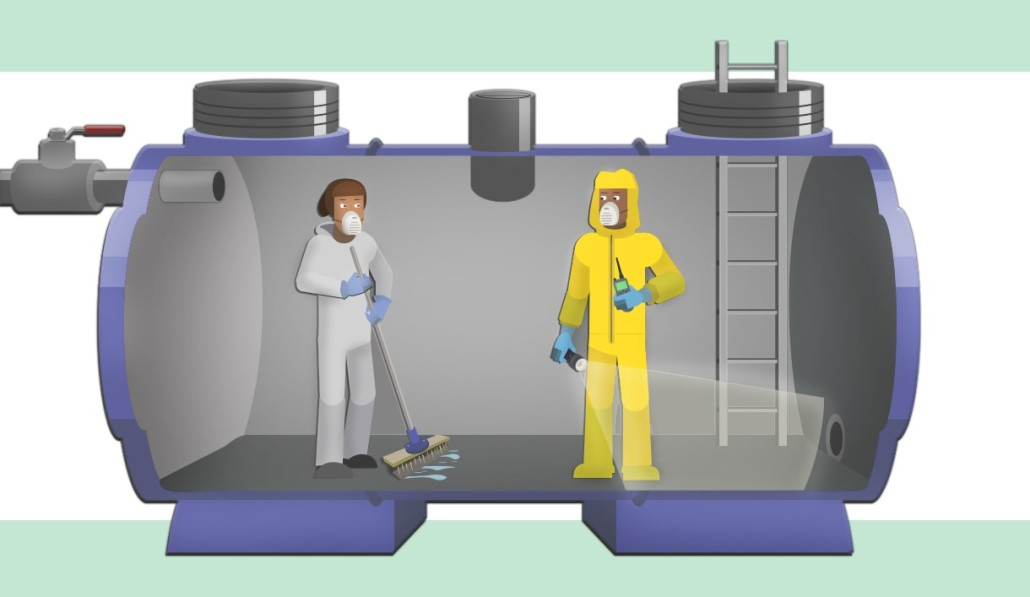Confined Space Ventilation : Health safety precautions in confined spaces ppe