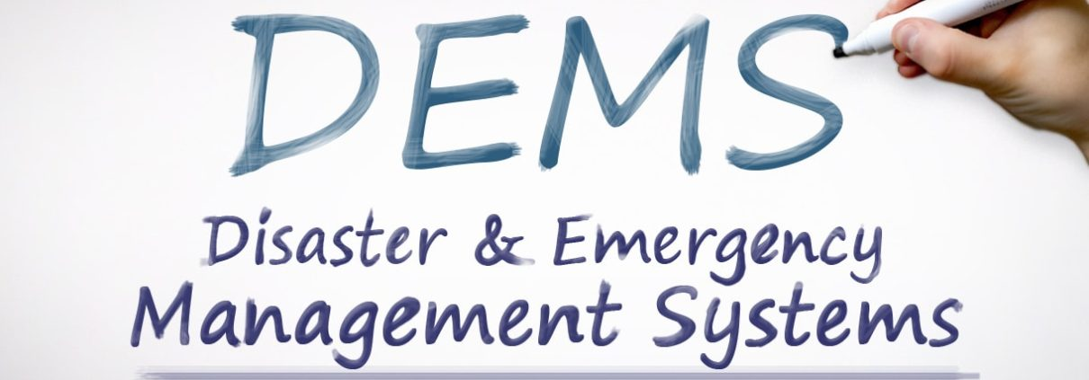 Disaster and Emergency management Systems Image Header