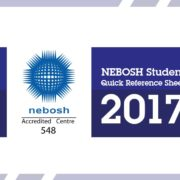 NEBOSH Quick reference Sheet Exam 2017 v1.0 - SHEilds