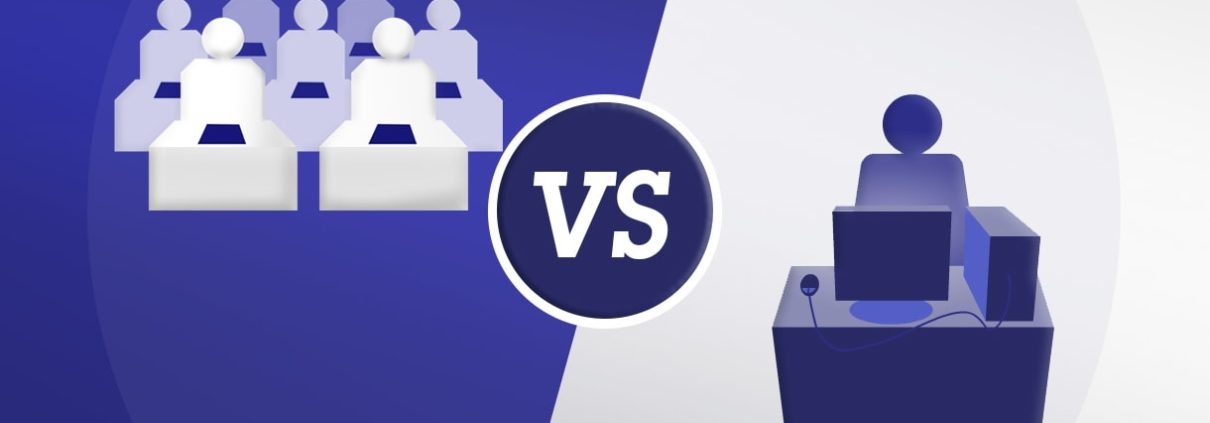 eLearning VS Classroom Training