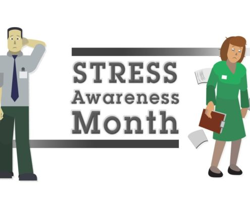 Stress Awareness Month SHEIlds
