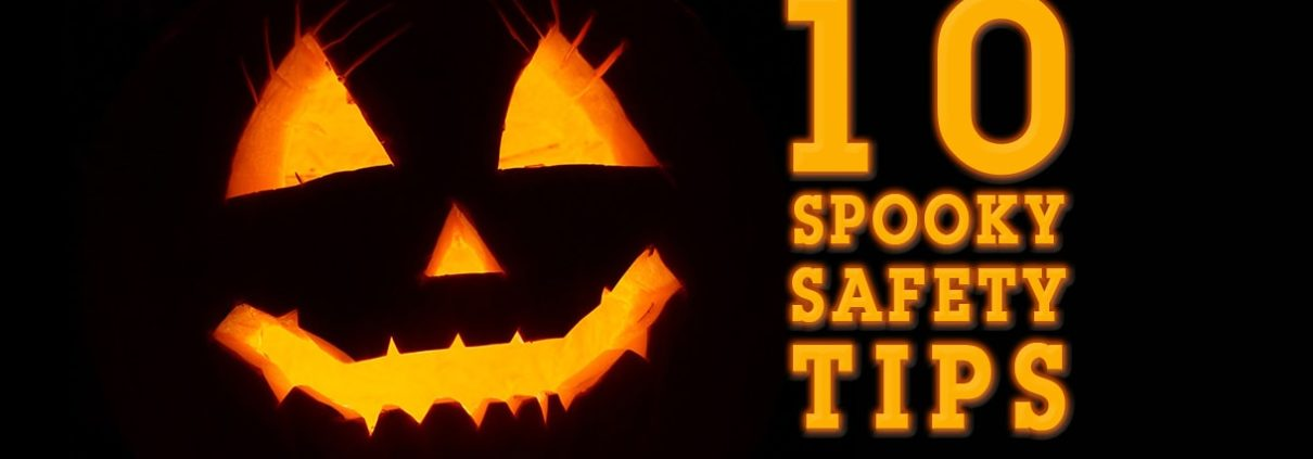 Halloween 2017 Blog Header 10 Safety Tips