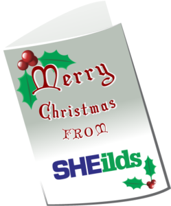 Christmas Card from SHEilds for 2017