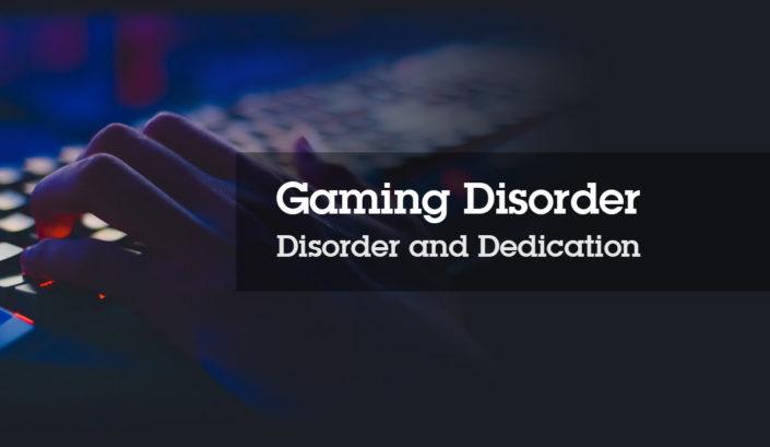 Gaming Disorder SHEilds Blog - Stephen Conlan