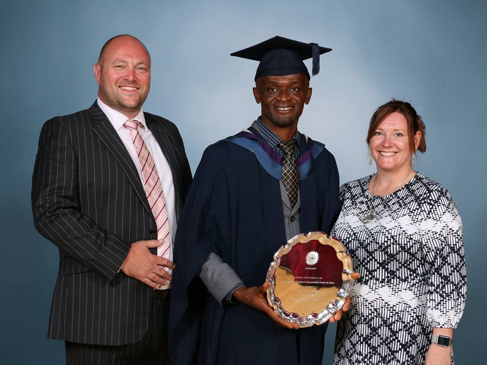 Gregory Afube SHEilds Graduation Ceremony 2018