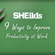 Ways to improve productivity at work