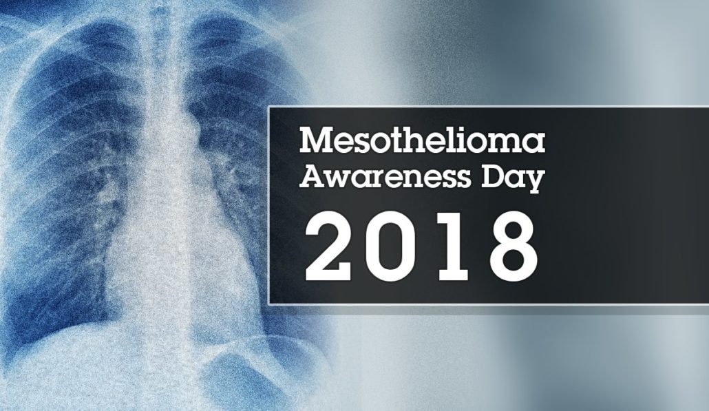 Mesothelioma Awareness Day 2018 - Asbestos we meet again