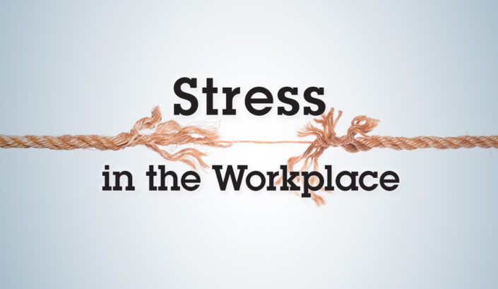 Workplace stress Blog Image