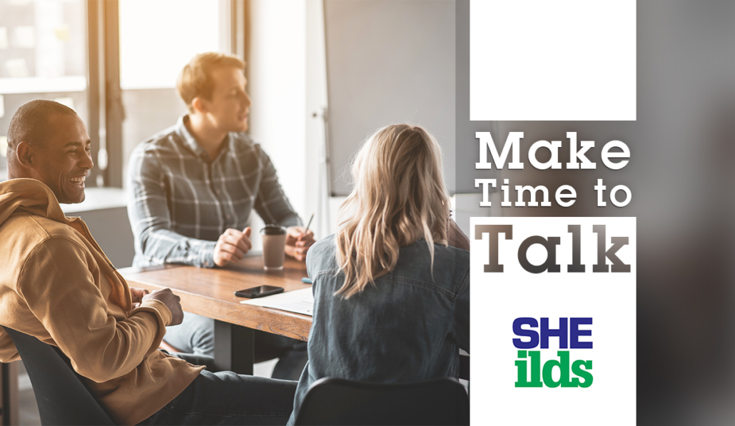 Make Time to Talk 2019 - SHEilds Health and Safety Blog and News