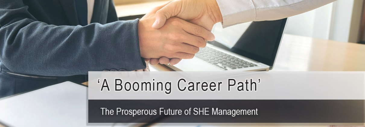 SHE Profession Booming Career Path NEBOSH SHEilds Image