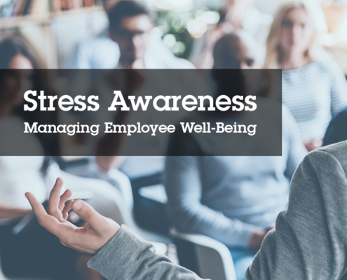 Stress Awareness Month 2019 SHEilds Health and Safety