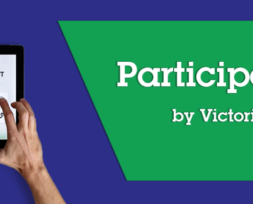 Participation Blog by Victoria Hughes